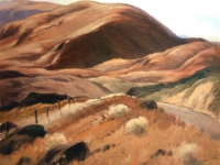 """Percy L. Manser (American, 1886–1973), In the Klickitats, 1960, oil on canvas, 24"""" x 30""""; Gift of William T. Freed and Gretchen Freed Loschen in memory of H. William and Evelyn B. Freed, 2012.2.1, Collection of Maryhill Museum of Art."""