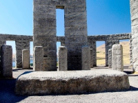Stonehenge Memorial interior. Photography Scott Thompson