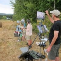 Maryhill Museum of Art hosts Pacific Northwest Plein Air  in the Columbia River Gorge 1