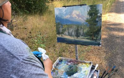 Artists to Capture Columbia Gorge Splendor During 2018 Plein Air Event